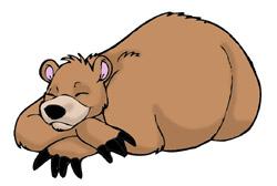 clipart_sleepingbear
